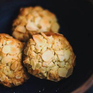 kínai mandulás sütemény