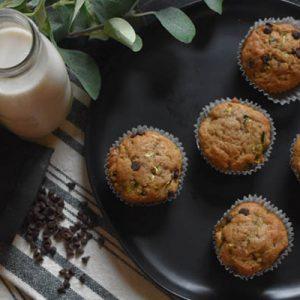Cappuccinos-csokoládés muffin