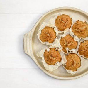 szerecsendiós muffin