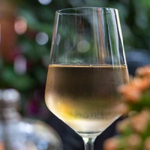 fehérbor párolt csukához