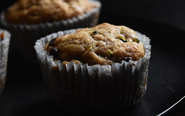cukormentes mogyoróvajas muffin