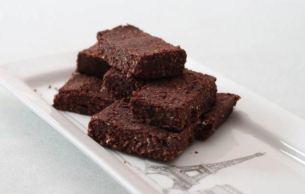 kókuszos brownie