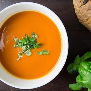 olasz paradicsomkrém leves