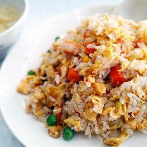tojásos sült rizs