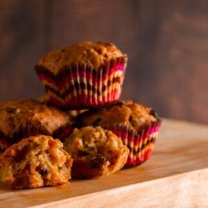 zöldséges muffin recept