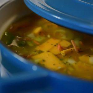 téli diétás leves