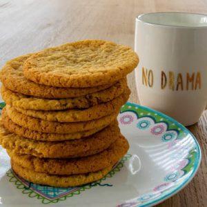 gyors citromos-mandulás keksz