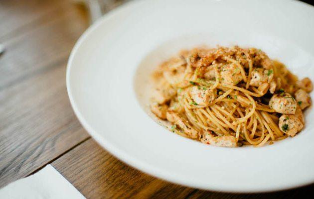 csirkés spagetti