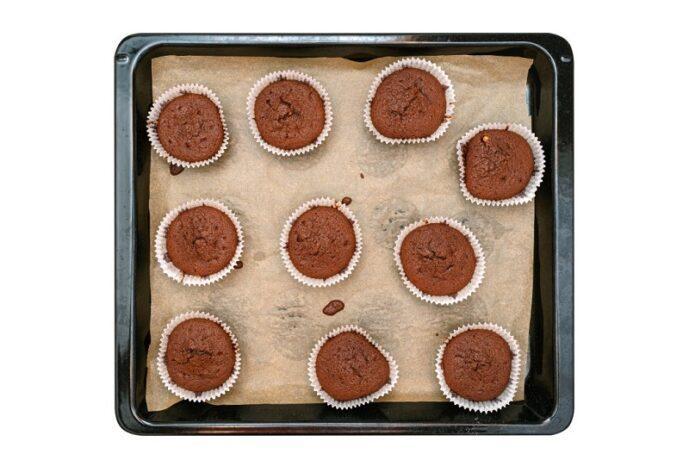 miért esik össze a muffin