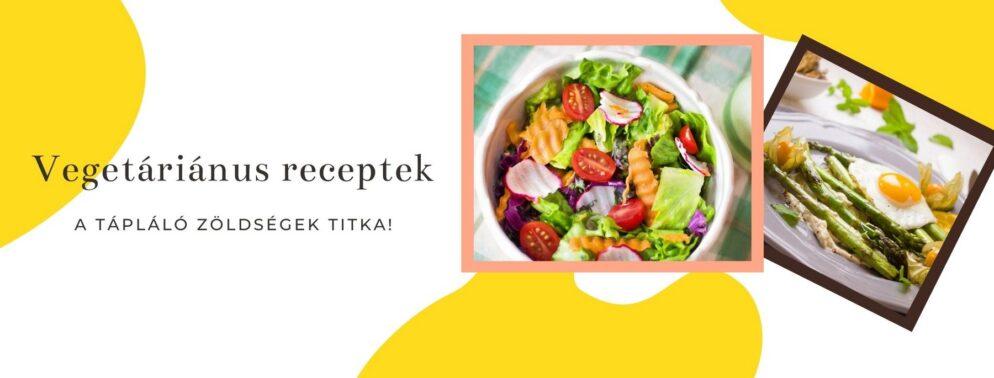 vegetáriánus receptek a receptek.at oldalon
