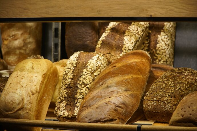 péksütemény, kenyér