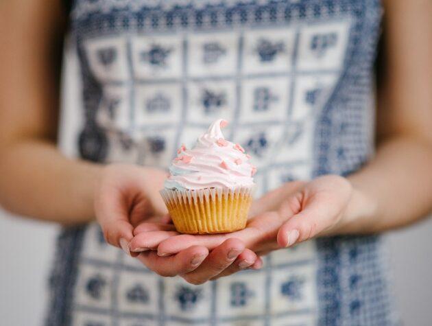 alap vaníliás cupcake készítés lépésről lépésre