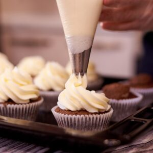 cupcake dekorálás cupcake krém
