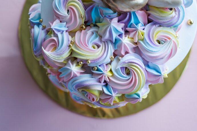 színes vajkrém cupcake krém recept