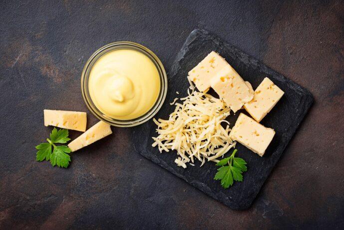 házi sajtos tésztaszósz recept