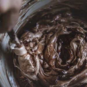 csokis vajkrém elkészítése
