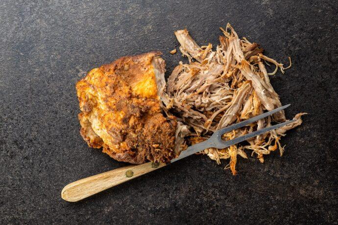 pulled pork tépett hús